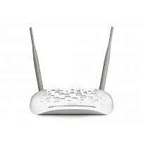 Wireless N broadband ADSL2+ router, 4x LAN (TP-Link TD-W8961N)