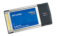 Wireless PCMCIA adaptor (TP-Link TL-WN310G)