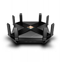 6000Mbps Wireless Gigabit Router Dual-band AX6000, MU-MIMO (TP-Link Archer AX6000)